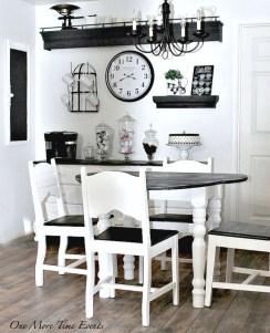 Amazing Farmhouse Kitchen Tables Ideas 28