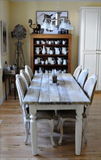 Amazing Farmhouse Kitchen Tables Ideas 49