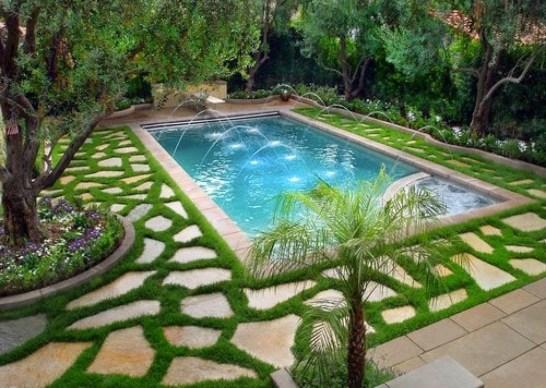 Beautiful Garden Flooring Ideas 06
