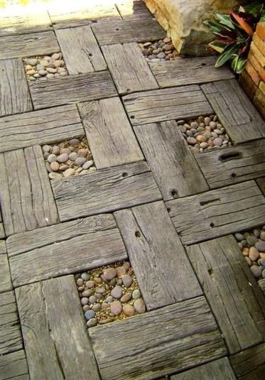 Beautiful Garden Flooring Ideas 15