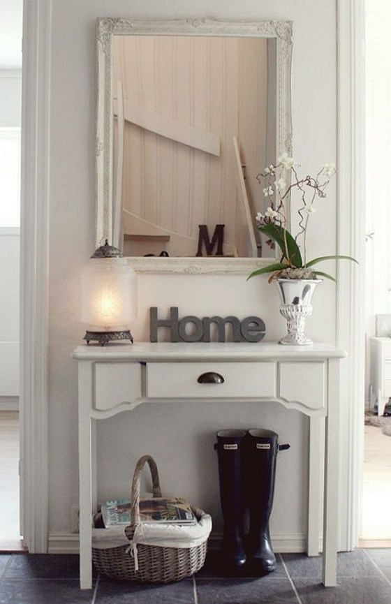 Chic And Simple Entrance Ideas For Your House 46