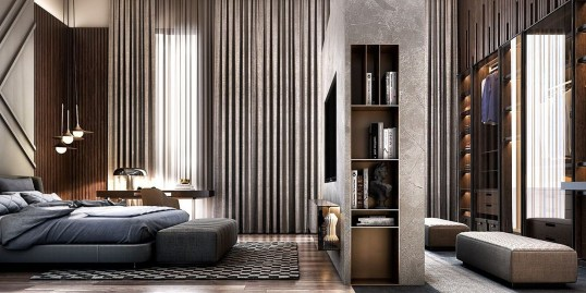 Partition Inspirations For Minimalist House 23