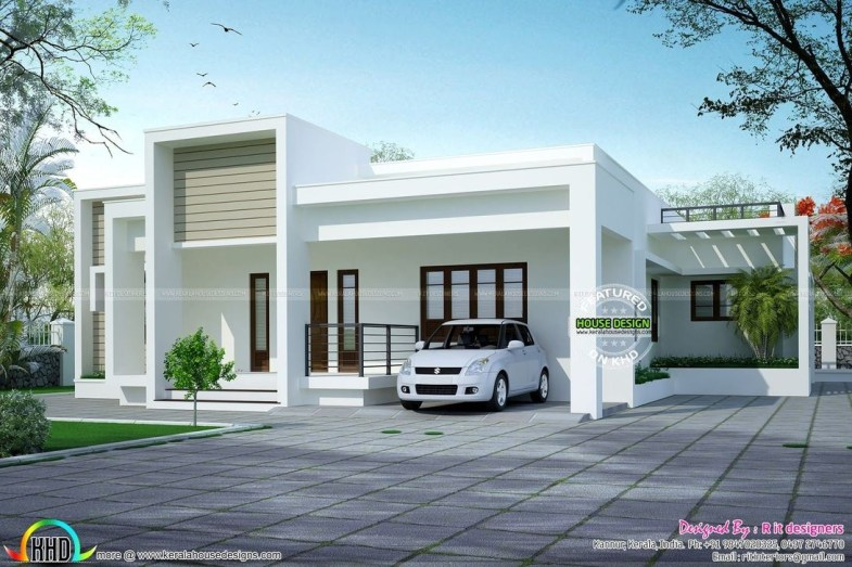 Simple House With Warm Wooden Interior 13