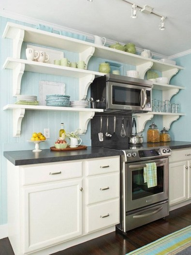 Tips On Organizing Kitchen With Small Dimension 25