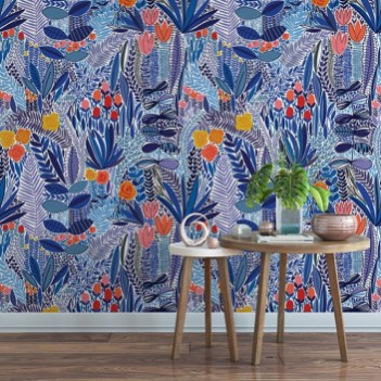 Trendy Wallpaper Designs To Create Different Moods In The House 14