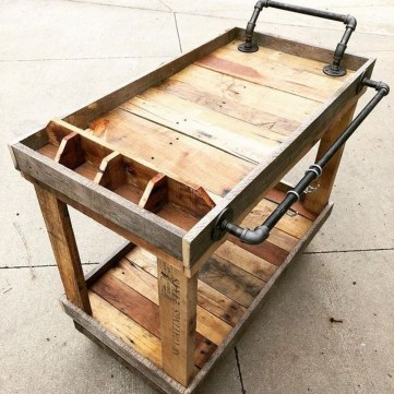 Adorable Crafty Diy Wooden Pallet Project Ideas 42