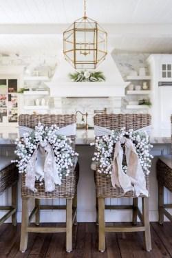 Adorable White Christmas Decoration Ideas 14