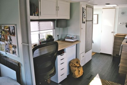 Beautiful Rv Remodel Camper Interior Ideas For Holiday 54