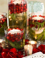 Charming Christmas Candle Decor Ideas 02