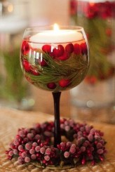 Charming Christmas Candle Decor Ideas 03