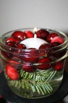 Charming Christmas Candle Decor Ideas 09
