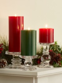 Charming Christmas Candle Decor Ideas 38