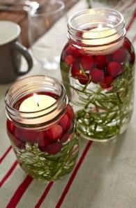 Charming Christmas Candle Decor Ideas 47