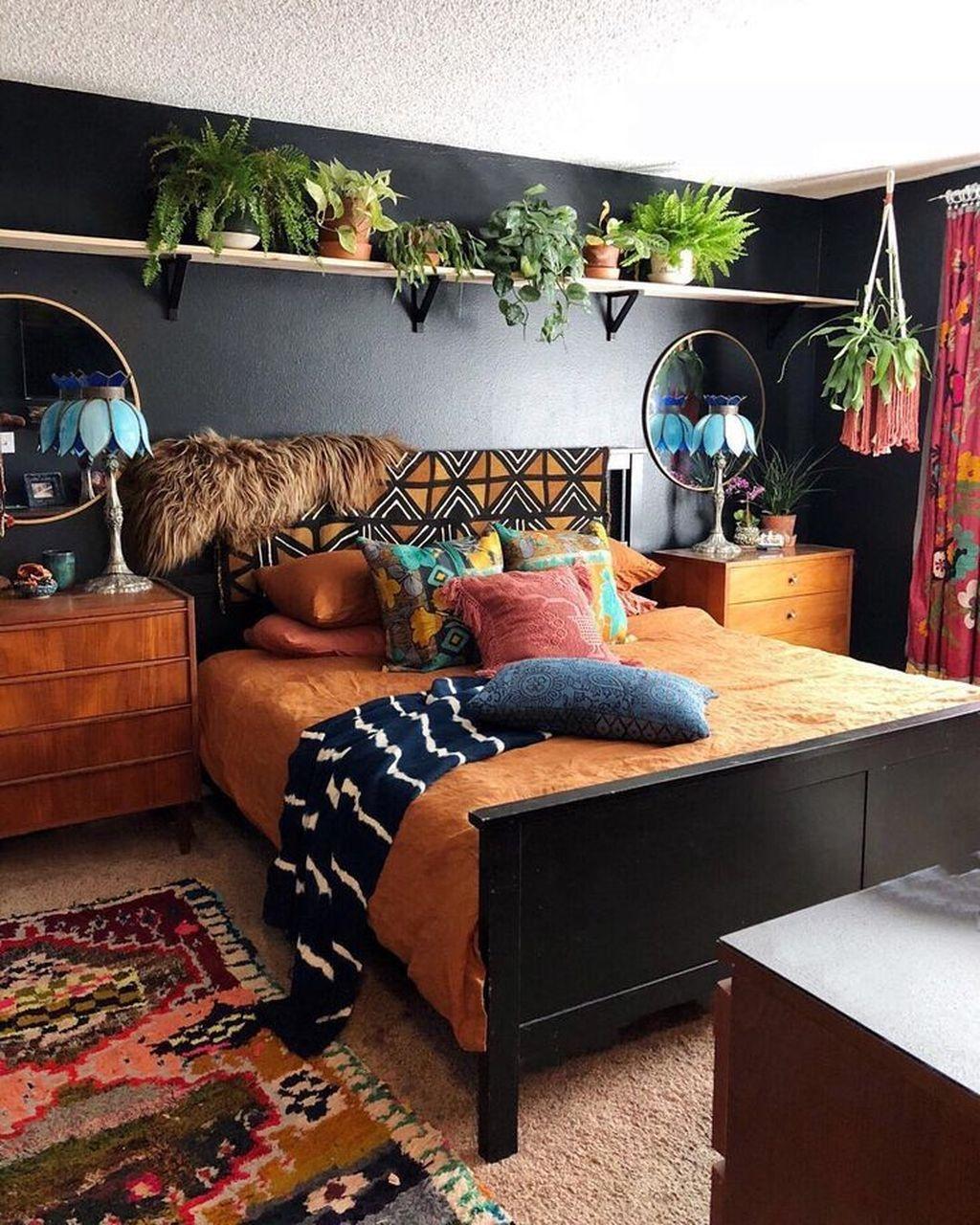 Creative Bohemian Bedroom Decor Ideas 12