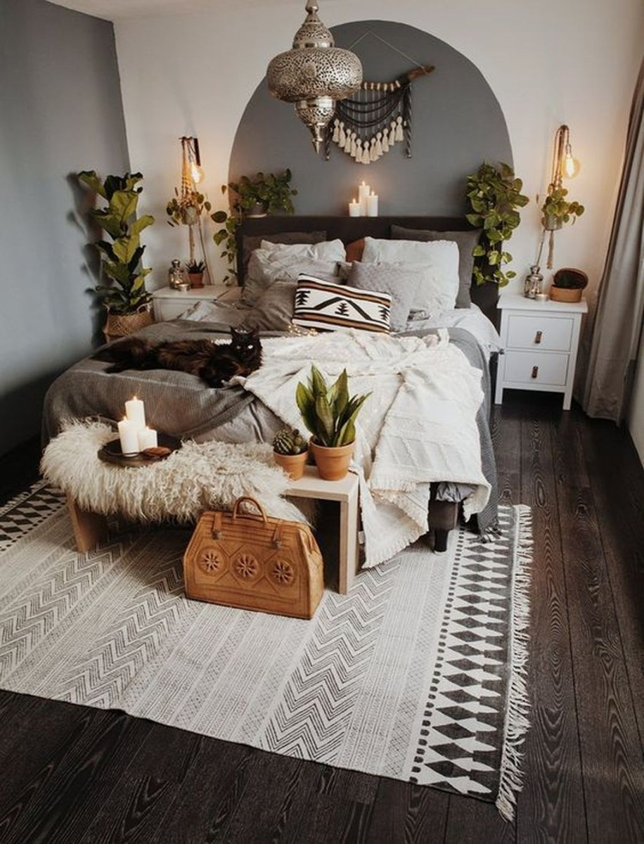 Creative Bohemian Bedroom Decor Ideas 48