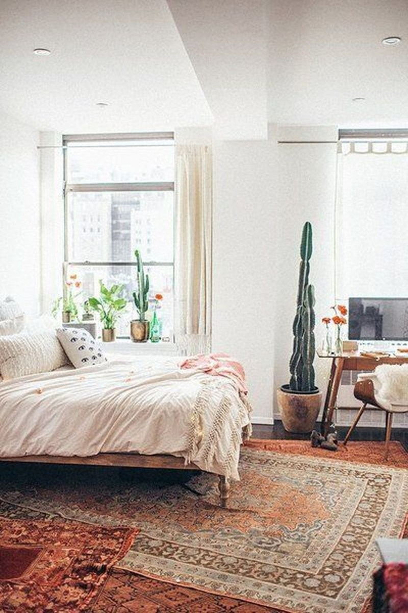 Creative Bohemian Bedroom Decor Ideas 55