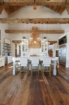 Cute Farmhouse Kitchen Remodel Ideas 36