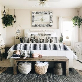 Elegant Bohemian Bedroom Decor Ideas 04