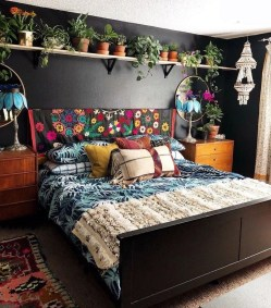 Elegant Bohemian Bedroom Decor Ideas 05