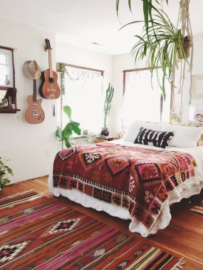 Elegant Bohemian Bedroom Decor Ideas 29