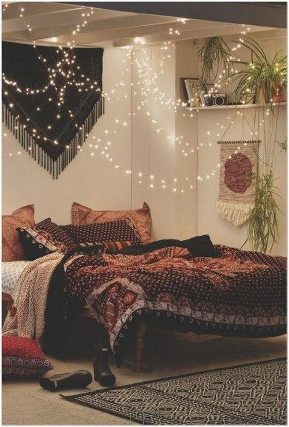 Elegant Bohemian Bedroom Decor Ideas 50
