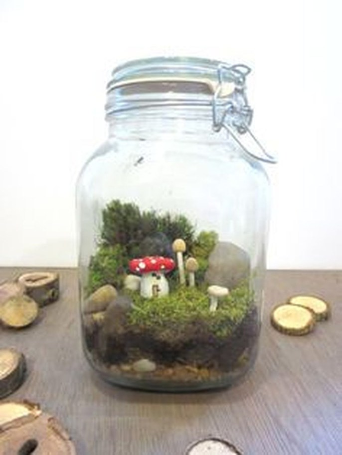Pretty Diy Christmas Fairy Garden Ideas 06