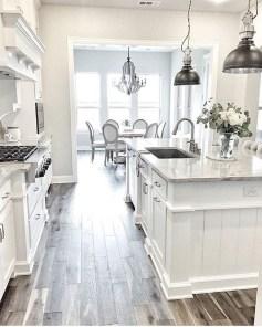 Pretty White Kitchen Backsplash Ideas 38