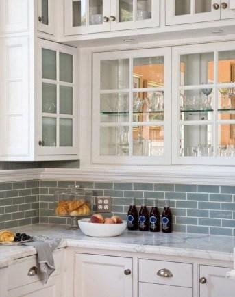 Pretty White Kitchen Backsplash Ideas 54