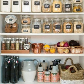 Simple Minimalist Pantry Organization Ideas 01
