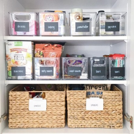 Simple Minimalist Pantry Organization Ideas 16