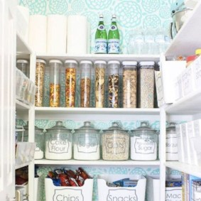 Simple Minimalist Pantry Organization Ideas 19