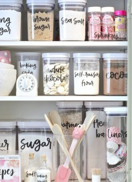 Simple Minimalist Pantry Organization Ideas 34