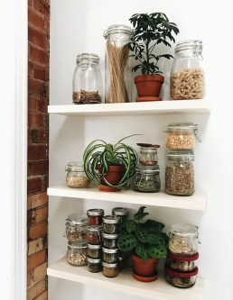 Simple Minimalist Pantry Organization Ideas 43