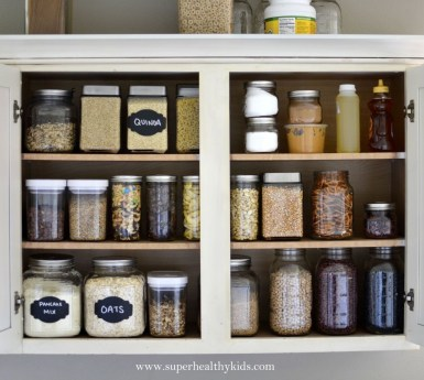 Simple Minimalist Pantry Organization Ideas 53