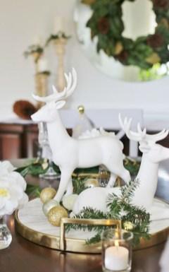 Stunning Christmas Dining Table Decoration Ideas 08