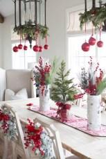 Stunning Christmas Dining Table Decoration Ideas 13