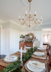 Stunning Christmas Dining Table Decoration Ideas 25