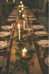 Stunning Christmas Dining Table Decoration Ideas 26