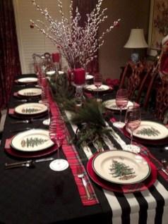 Stunning Christmas Dining Table Decoration Ideas 36