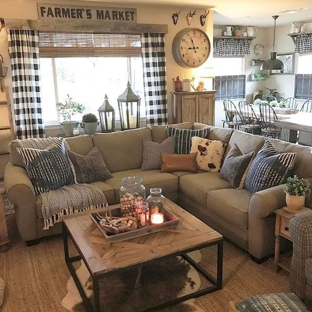 4+ Amazing Diy Farmhouse Home Decor Ideas On A Budget - TRENDECORS