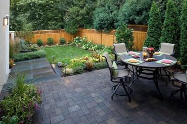 Attractive Small Patio Garden Design Ideas For Your Backyard 29