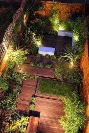 Attractive Small Patio Garden Design Ideas For Your Backyard 45