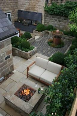 Attractive Small Patio Garden Design Ideas For Your Backyard 52