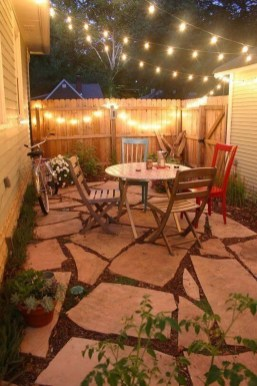 Attractive Small Patio Garden Design Ideas For Your Backyard 55