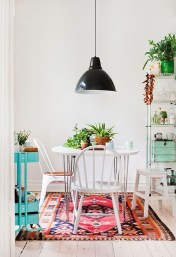 Awesome Bohemian Dining Room Design And Decor Ideas 07