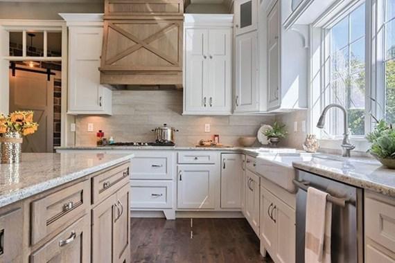 Awesome Farmhouse Kitchen Design Ideas 18