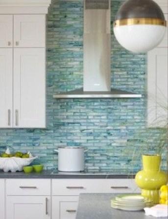 Elegant Beach Coastal Style Kitchen Decor Ideas 10