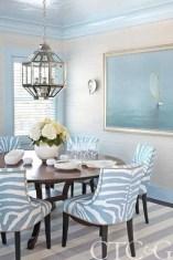 Elegant Beach Coastal Style Kitchen Decor Ideas 23