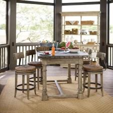 Elegant Beach Coastal Style Kitchen Decor Ideas 29