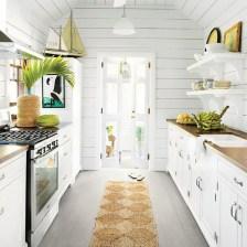 Elegant Beach Coastal Style Kitchen Decor Ideas 30
